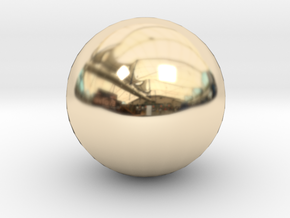 Ball in 14K Yellow Gold