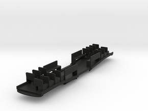 O Scale LARy Sowbelly Floor in Black Natural Versatile Plastic