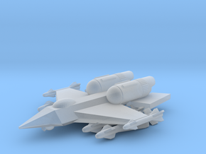"285 Scale Federation F-15 ""Eagle"" Fighter MGL in Smooth Fine Detail Plastic"