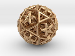 Hedron star Family Version 2 in Natural Bronze