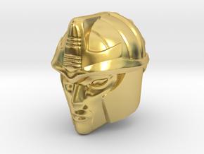 Blackarachnia 19mm Tall Head R in Polished Brass