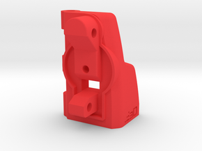 CA MP5K to G36 Shoulder Stock Adapter in Red Processed Versatile Plastic
