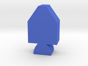 Game Piece, Apollo Spacecraft in Blue Processed Versatile Plastic