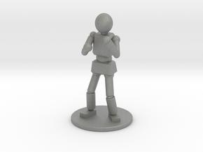 Prototype: Male Unarmed  in Gray Professional Plastic