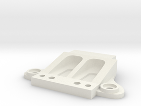 Mini-Z Ferrari F40 front body mount in White Natural Versatile Plastic