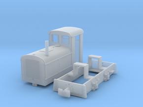 Feldbahnlok DIEMA DS20 1:35 in Smooth Fine Detail Plastic