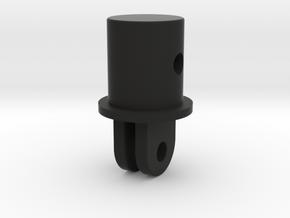 Go pro plug 20mm Tube in Black Natural Versatile Plastic