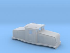 Swedish SJ electric locomotive type Ub - N-scale in Smooth Fine Detail Plastic