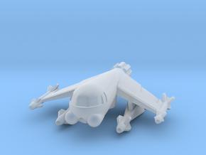 285 Scale Klingon Z-Y Fighter WEM in Smooth Fine Detail Plastic
