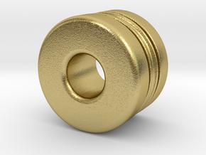 T-std040X in Natural Brass