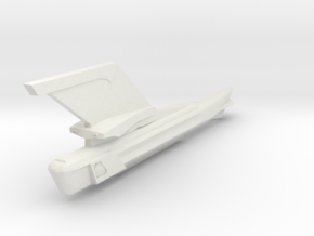 2500 single engine & neck parts in White Natural Versatile Plastic
