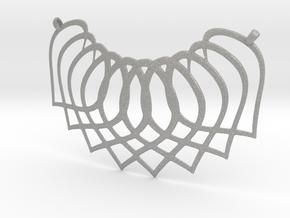 Necklace Pendant in Aluminum