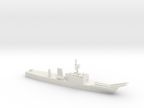 Newport-class LST w/o floats, 1/1800 in White Natural Versatile Plastic