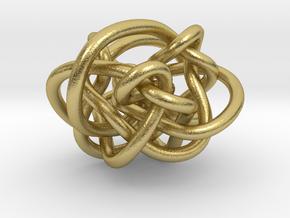 B&G Link 25 in Natural Brass (Interlocking Parts)