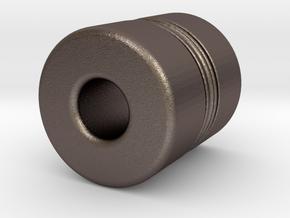 N-n18030X in Polished Bronzed-Silver Steel
