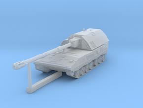 1:120 TT scale Howitzer Bundeswehr PZH 2000 in Smooth Fine Detail Plastic