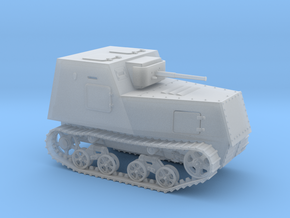 1/76th scale KHTZ-16 soviet armoured tractor in Smooth Fine Detail Plastic