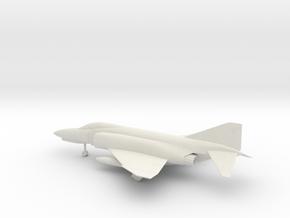McDonnell Douglas F-4E Phantom II in White Natural Versatile Plastic: 1:72