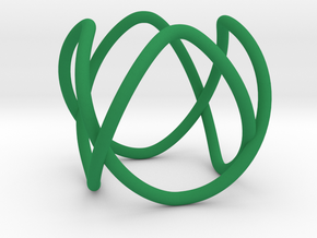 Link with Cyclic Symmetry in Green Processed Versatile Plastic