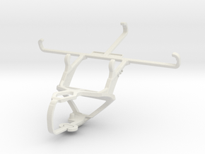 Controller mount for PS3 & Samsung Galaxy J2 Prime in White Natural Versatile Plastic