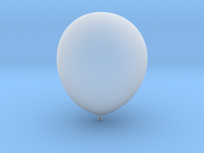 Balloon! in Smooth Fine Detail Plastic: Small