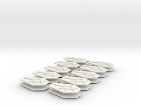 SciFi Ankh 30mm #3 in White Natural Versatile Plastic