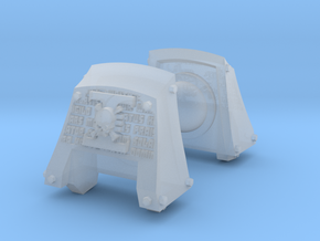 Death's Watch Count Dreadnought pads x2 in Smooth Fine Detail Plastic
