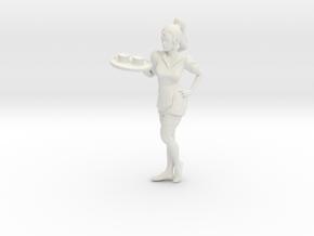 Printle V Femme 051 - 1/24 - wob in White Natural Versatile Plastic