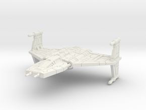 Tosqan Q-8: 1/270 scale in White Natural Versatile Plastic