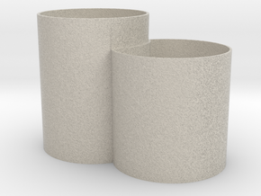 Vase Mod 005 in Natural Sandstone
