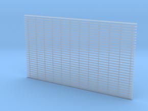 HO - Rail de contact Mazen (3ème rail) PSL in Smooth Fine Detail Plastic