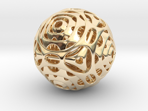Cube to Octahedron Transition in 14k Gold Plated Brass