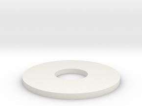 super8mm adapter in White Natural Versatile Plastic