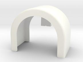 single fender 3 in White Processed Versatile Plastic