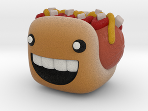 Hot Dog in Natural Full Color Sandstone