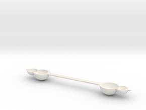 tea spoon.stl in White Natural Versatile Plastic: Small