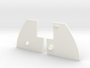 1.5 COCKPIT F18 (G) in White Processed Versatile Plastic