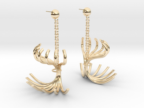 Clotheshorse in 14k Gold Plated Brass: Large