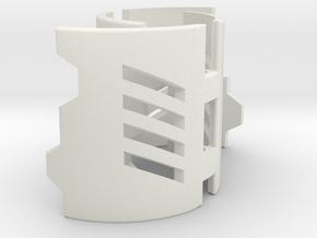 Graflex2.0 - Master Chassis - 4/7 Shell 3 in White Premium Versatile Plastic