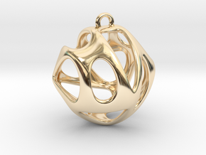 Hedra I in 14k Gold Plated Brass