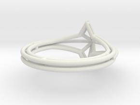 anello stellai filo c 12 giu in White Premium Versatile Plastic