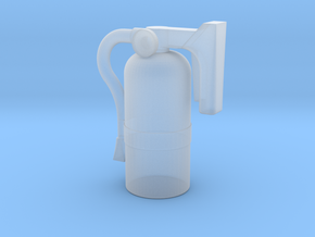 Fire Extinguisher - 1:10 Scale in Smooth Fine Detail Plastic