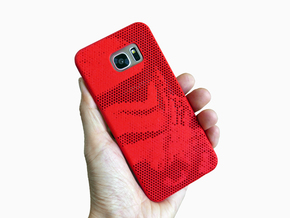 Samsung Galaxy S7 Edge case_Stormtroopers in Red Processed Versatile Plastic