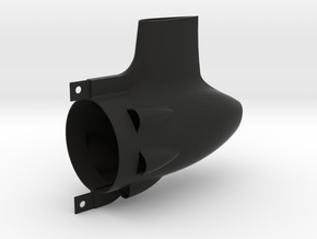 Short 50mm Tailcone  in Black Natural Versatile Plastic