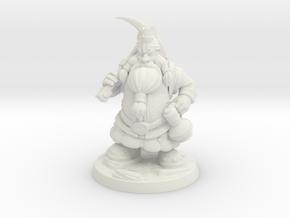 DwarfMiner in White Natural Versatile Plastic