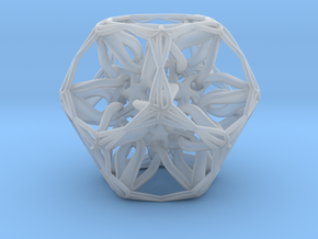 Organic Dodecahedron star nest in Smooth Fine Detail Plastic