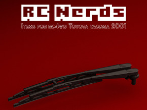 RCN134 Wipers for RC4WD Toyota Tacoma in Black Natural Versatile Plastic