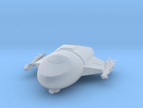 "285 Scale Klingon Z-1 ""Zoran"" Fighter MGL in Smooth Fine Detail Plastic"