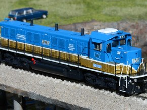 NRE 3GS21B Genset: Angled Fuel Tank (N - 1:160) in Smoothest Fine Detail Plastic