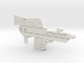 POTP Slash Rifle in White Natural Versatile Plastic